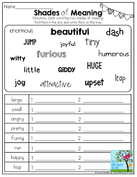 69 best Shades of Meaning for Adjectives and Verbs images on ...