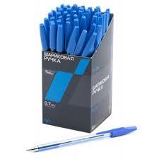 """<b>Ручка шариковая</b> """"<b>Hatber Т-34</b>"""" синяя"""