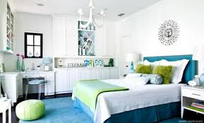 blue bedroom decorating ideas for teenage girls. Blue-and-White-Themes-Decoration-in-Small-Teenage-Girls-Bedroom-Decorating -Designs-Ideas.jpg Blue Bedroom Decorating Ideas For Teenage Girls E