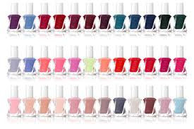 Essie Gel Colors Chart 51 Circumstantial Essie Nail Color Chart
