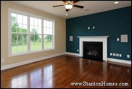 living room paint ideas with accent wallCustom Home Design Trends  Color Accent Walls