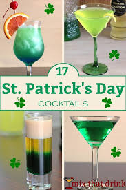 you may think of the usual st patrick s day drink as green beer but we have a variety of st patrick s day ls for those of you who feel there s a