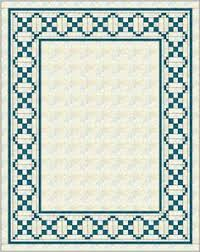 Quilt Border Patterns Delectable Sawtooth Square Quilt Border Pattern Quilts Round Robin
