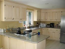 How Reface Kitchen Cabinets Enchanting Kitchen Attractive Painting Kitchen Cabinets Cost Blue Refacing