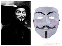 v for vendetta movie mask. Unique Vendetta Wholesale V For Vendetta Mask Halloween Horror Movie Theme  Face Masquerede Custume Cheap Mens Masked Ball Masks  On L