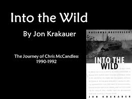 the journey of chris mccandless ppt video online the journey of chris mccandless