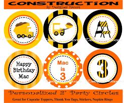 Printable Construction Signs Free Printable Construction Signs Construction Truck Party