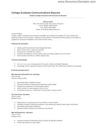 College Student Resume Sample Interesting Sample Of College Student Resume Sample Of A College Student Resume