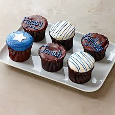 Personalized Birthday Cupcakes For Him Set Of 9 Williams Sonoma
