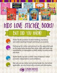 18 educational sticker books from usborne