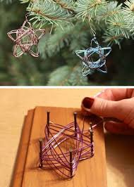 Make Christmas Stars Out Of Wire Instructions Christmas