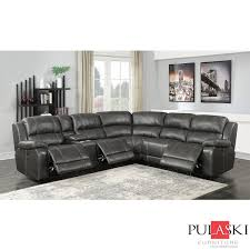 Light Grey Leather Recliner Sofa Delectable Modern Reclining Sectional Fabric Recliner Gray
