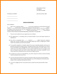 Samples Of Appointment Letter For An Employee Job Joining Letter Sample D Joining Letter Format Doc File Best Of