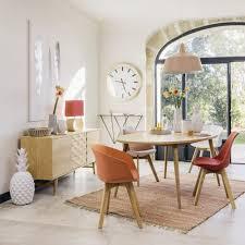 Ovale Esstisch 8 Personen L200 Origami Maisons Du Monde