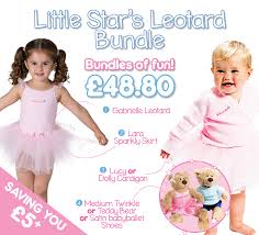 Save 5 With The Little Stars Leotard Bundle