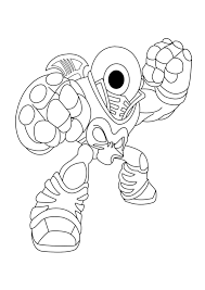 Skylander Coloring Pages To Print 3 Futuramame