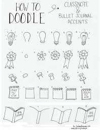 Doodle How To Draw Accentsbujo Bullet Journal Bullet Journal