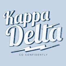 Custom Design Threads Kappa Delta Go Confidently Design Fall In Love With Delta