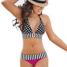 <b>Sexy Bikini</b>, <b>2019 Swimwear</b> Women Stripe <b>Bikini</b> Set Bandage ...