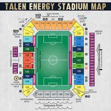 Ppl Park Seating Chart With Rows Wallseat Co
