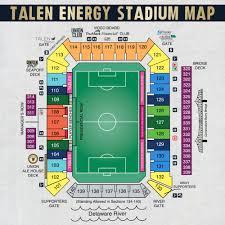 Philadelphia Union Seating Chart Wallseat Co