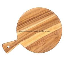 china kitchen crafted gift wood pizza bread serving tray plate with handle china wood crate wood box