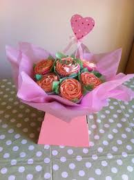 Mothers Day Pink Bouquet Cakes Unlimited Uk