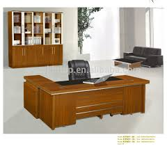 Modern Executive Melamine Wooden Office Table Designs  A