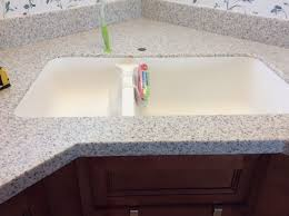 My Kitchen Remodel With Lg Hi Macs Solid Surface In White Granite I