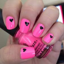 Pink Nail Art Design Think Pink For Spring Nail Art Designs Wehotflash