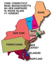 image result for northeast states pinterest best of map us with