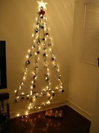 Christmas Tree Design On Wall With Lights Gorgeous Diy Wall Light Christmas Tree That Will Change Your