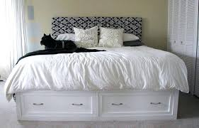 king storage bed plans. King Storage Bed Frame With Drawers Size Beds White Plans