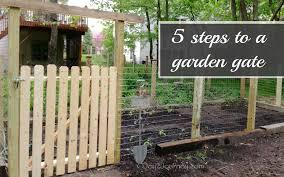 garden gate designs a in 5 easy steps joy 2 journey