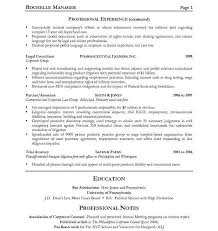 Sample Legal Resumes | Sample Resume And Free Resume Templates