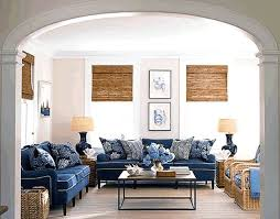 living rooms with navy blue furniture. i love this look from house beautiful - great inspiration for how to use our navy sofa in new living room! rooms with blue furniture e
