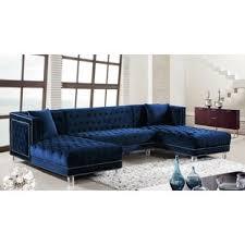 blue velvet sectional. Wonderful Sectional Quickview On Blue Velvet Sectional I