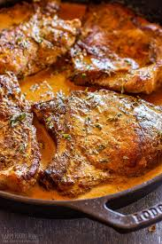 cast iron skillet pork chops recipe