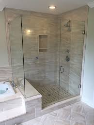 shower enclosures with bench. Modren Shower LShape Next To Tub Or Bench Seat  Medford Lakes NJ South On Shower Enclosures With D