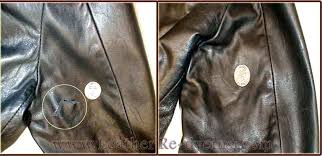 v shaped tear repair gucci jacket