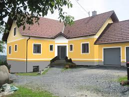 Haus Außenfarbe Braun
