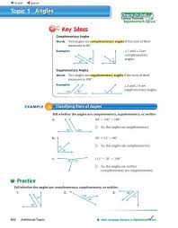 angles topic 1 big ideas math
