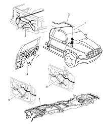 1997 dodge ram 3500 wiring body accessories diagram 00i14954