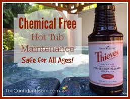chemical free hot tub maintenance