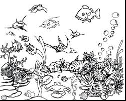 Coloring Page Ocean Coloring Pages Sea Animals Colouring Pages Sea
