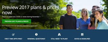 a screenshot of the affordable care act web site with the updated information for 2017 healthcare gov