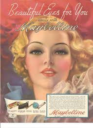 the maybelline story 1930 s maybelline ad painted by zoë mozert the most famous female pin up artist of her day