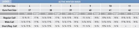 Mountain Horse Jacket Size Chart Mountain Horse Active Winter Rider Short Calf Mountain