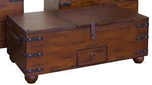 Hammary Hidden Treasures Trunk Coffee Table Treasure Chest Coffee Table Photo Album Elegy