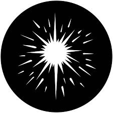 Cool Gobo Designs Spotlight Star Apollo Gobo 2234